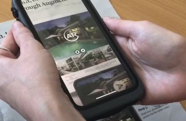 Augmented reality for real estate