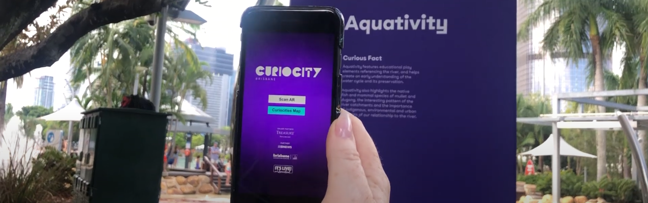 Augmented reality event - Curiocity Brisbane