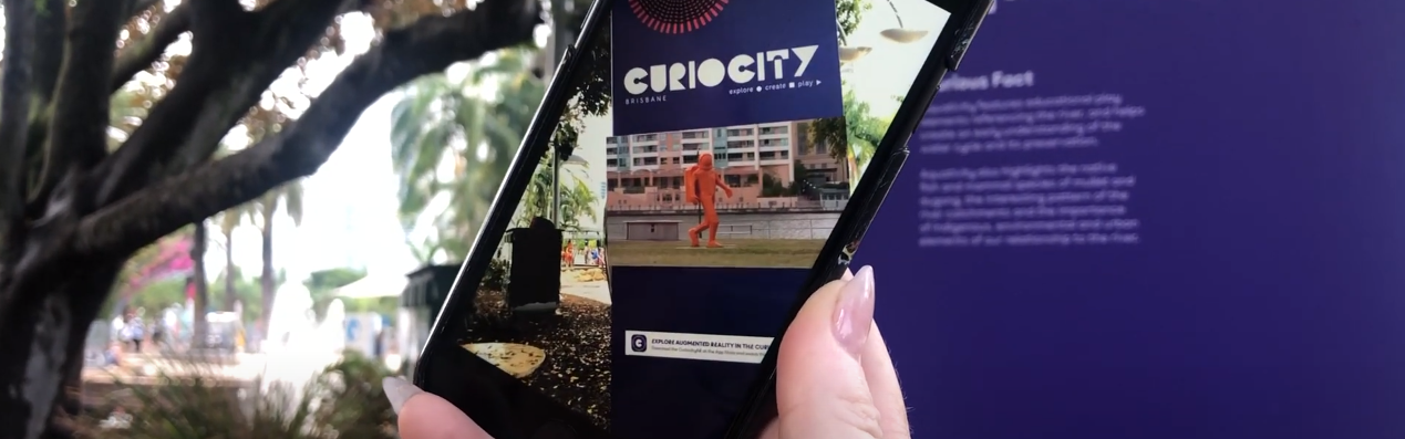 Augmented reality event - Curiocity Brisbane 2018