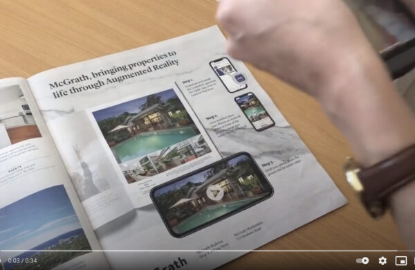 Augmented Reality property advertising
