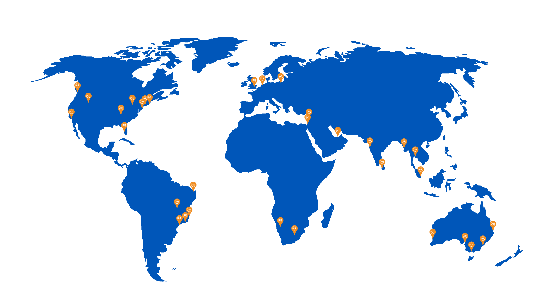 UnifiedAR Pricing - Partner Map